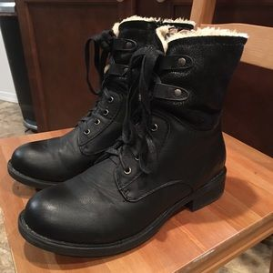 Comfortable Boots with Fur